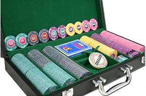 GI Pokerkoffer, 300 Chips für 250,00 €