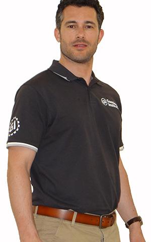 GI Poloshirt, anthrazit für 40,00 €